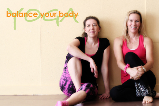 julie and amy byb yoga
